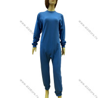 Cast jumpsuit with 2 zippers (for active)
